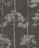 Non-Woven Wallpaper Rasch tree floral anthracite 410839 001