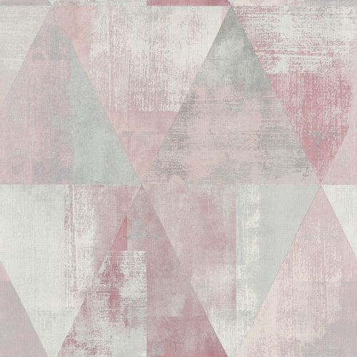 Non-Woven Wallpaper Rasch triangle vintage rose 410938