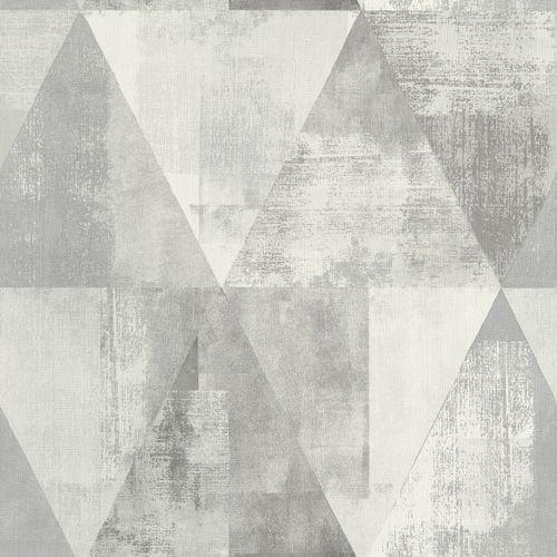 Vliestapete Rasch Dreieck Vintage grau creme 410945 online kaufen
