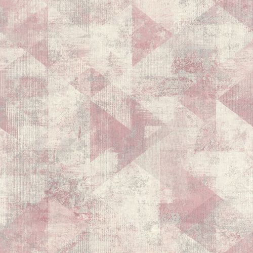 Non-Woven Wallpaper Rasch triangle boho rose grey 411508 online kaufen