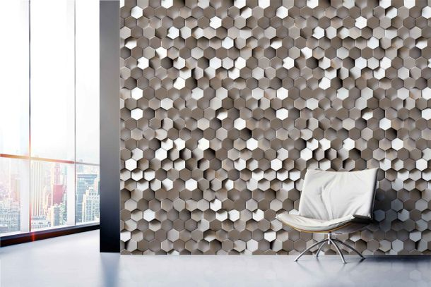 Non-Woven Digital Print Wallpaper 3D sequin graphic | A34701 online kaufen