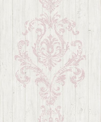 Wallpaper baroque wood grey rose GranDeco Facade FC2208 online kaufen