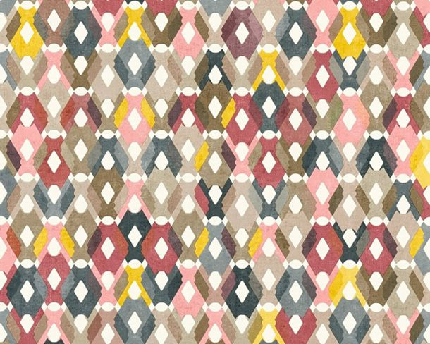 Non-Woven Wallpaper Graphic pink livingwalls 36288-1