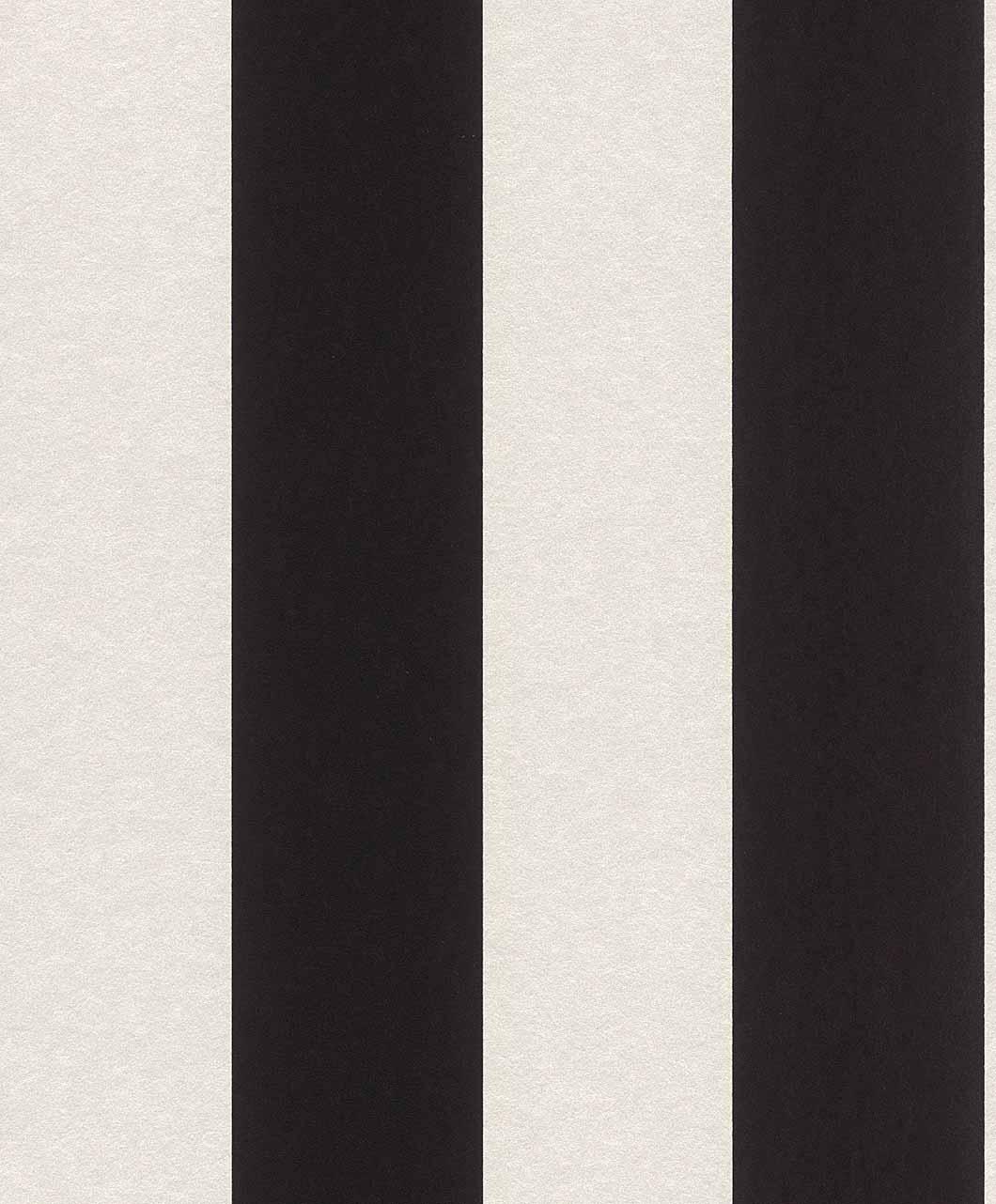 vliestapete blockstreifen klassisch schwarz wei glanz 361727. Black Bedroom Furniture Sets. Home Design Ideas