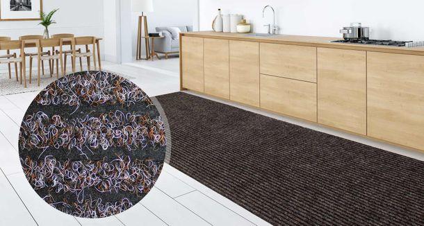 Kitchen Runner Granada Plus 80 cm width 5 colours | desired length online kaufen