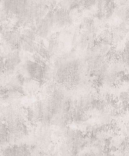Non-Woven Wallpaper vintage marble-effect grey EP1005
