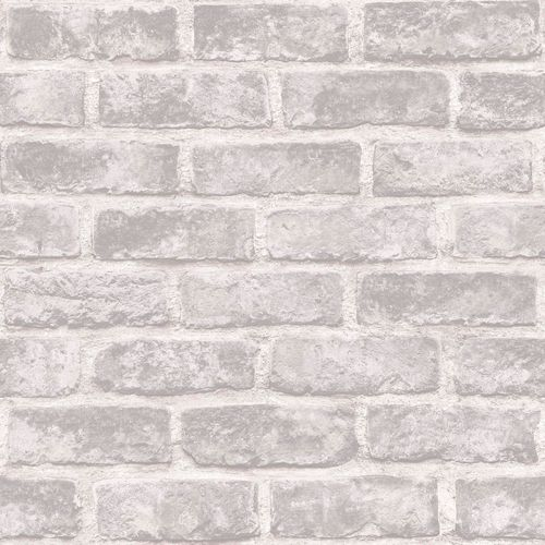 Non-Woven Wallpaper brick wall stones grey Exposure EP2306