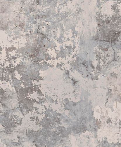 Non-Woven Wallpaper plaster vintage taupe grey EP3003 online kaufen