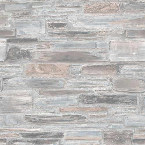 Non-Woven Wallpaper stone wall blue grey Exposure EP3201 online kaufen