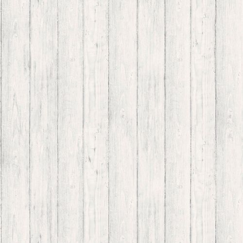 Non-Woven Wallpaper wood panels rustic light grey EP3902