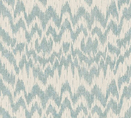 Designer Wallpaper Michalsky ethno stripes blue 36501-1 online kaufen