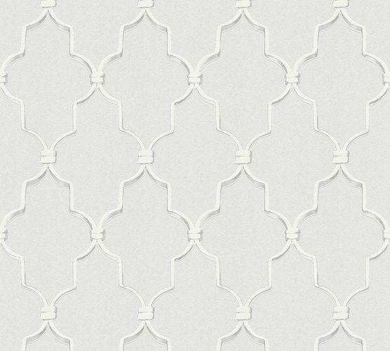 Designer Wallpaper Michalsky graphic light grey 36502-1 online kaufen