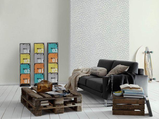 Designer Wallpaper Michalsky plain white 36504-1 online kaufen