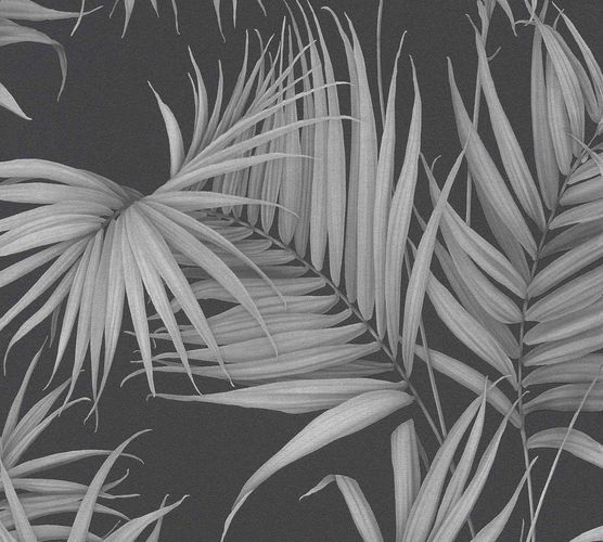 Designer Wallpaper Michalsky palm floral black 36505-3 online kaufen