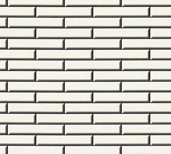 Vinyl Wallpaper Apron Brick Stones white black 34278-1 online kaufen