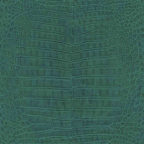 Non-woven Wallpaper Rasch crocodile skin green 528718 online kaufen