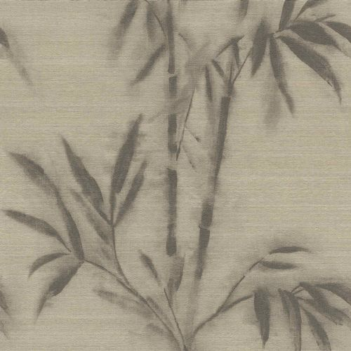 Non-woven Wallpaper Rasch bamboo aquarelle brown 529159 online kaufen