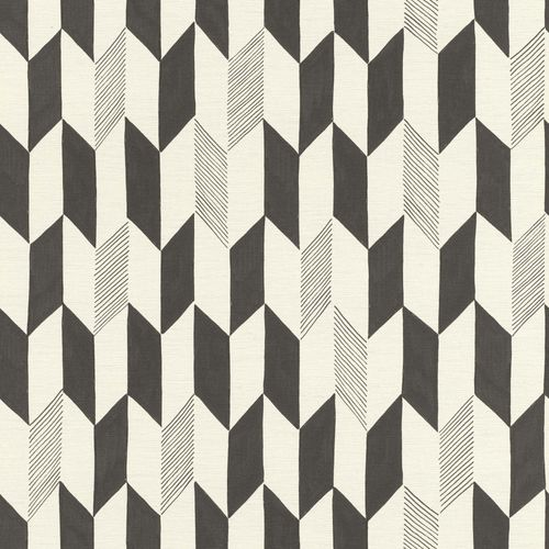 Non-woven Wallpaper Onszelf rhombus retro black 531046