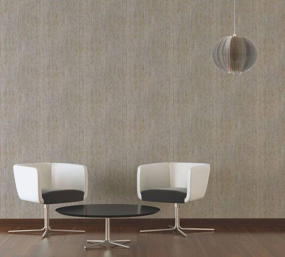 Non-Woven Wallpaper wooden beam grain brown 36487-3 online kaufen