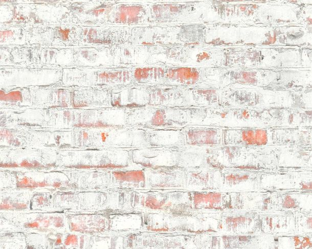 Non-Woven Wallpaper stone clinker used look grey 36491-1 online kaufen