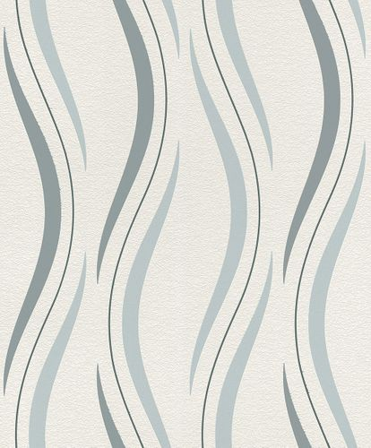 Non-woven wallpaper Raschwaves white light blue 476538 online kaufen