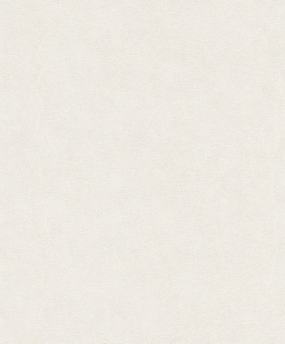 Non-woven wallpaper Rasch plain used cream white 708042 online kaufen