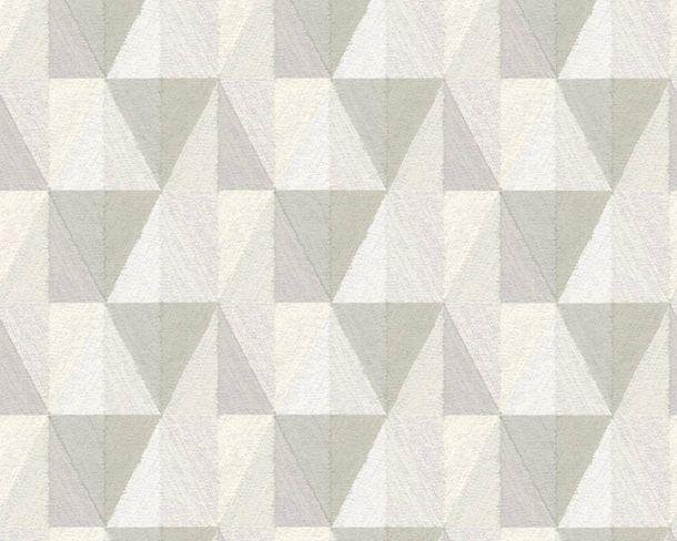Vliestapeten Rauten Leinen-Design hellgrau 36723-2 online kaufen