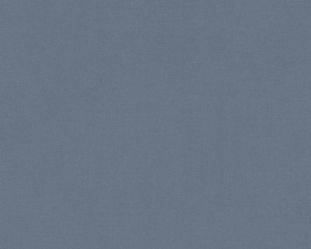 Non-woven wallpaper plain structured dark blue 36725-4