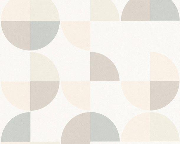 Vliestapeten Retro Grafik creme braun 36770-2 online kaufen