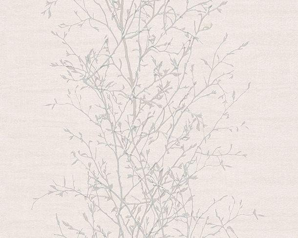 Non-Woven Wallpaper tendrils light grey 96203-2 online kaufen