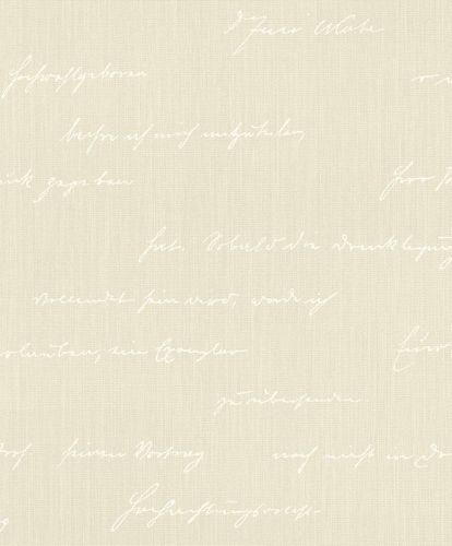 Tapete BARBARA Home Schriftzug beige weiß 522167 online kaufen