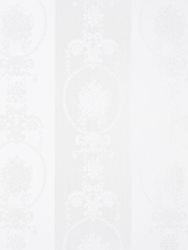 Vliestapete Barock Floral weiß Glanz estahome 136846 online kaufen