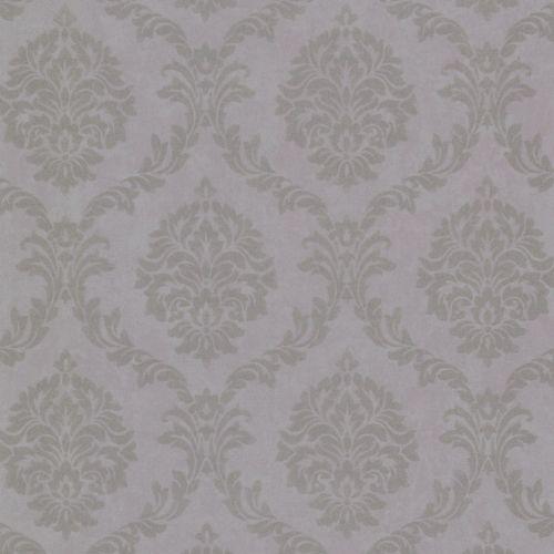 Vliestapete Barock Glitzer grau violett  FD69063 online kaufen