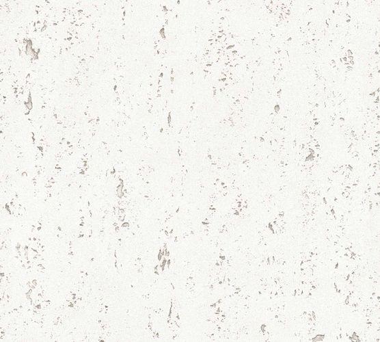 Non-Woven Wallpaper Plaster grey white 36470-1 online kaufen