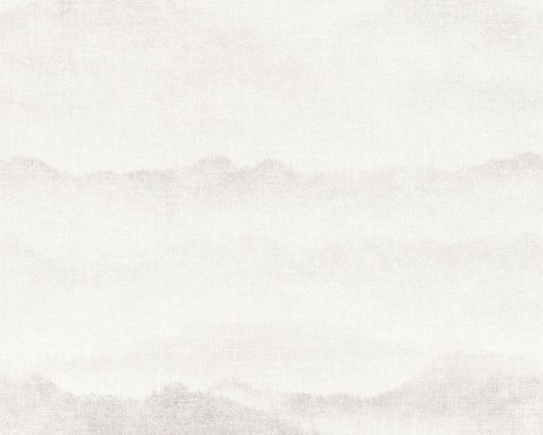 Vliestapete Uni Vintage-Design weiß hellgrau 36714-1 online kaufen