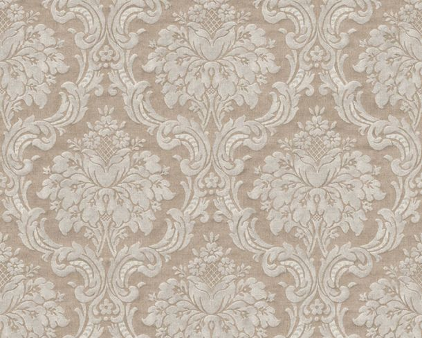 Non-Woven Wallpaper Baroque Vintage brown grey 36716-3 online kaufen