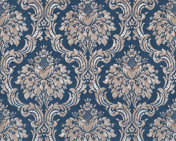 Vliestapete Barock Vintage dunkelblau beige 36716-7 online kaufen