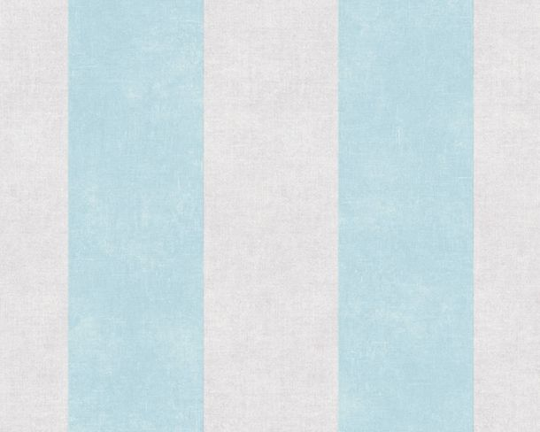 Non-Woven Wallpaper Block Stripes blue grey 36718-3 online kaufen