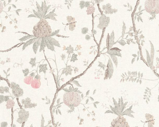 Non-Woven Wallpaper Tree Vintage grey brown 36719-1 online kaufen