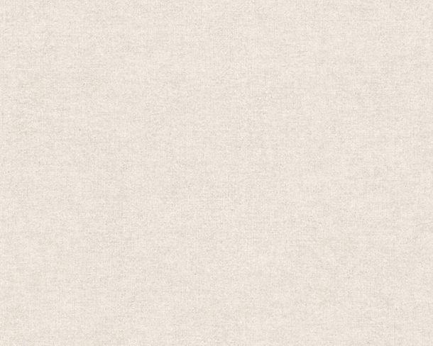 Vliestapete Uni Vintage-Design hellgrau beige 36720-4