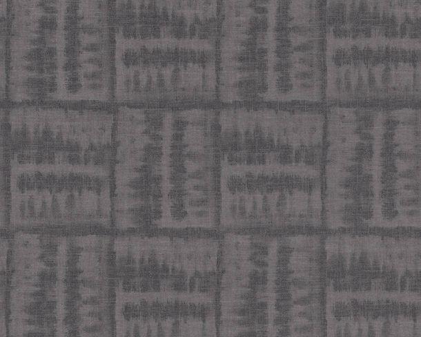 Non-woven Wallpaper Tiles grey Linen Style 36637-1 online kaufen