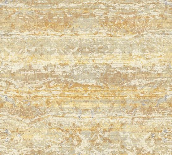 Non-Woven Wallpaper Stripes Vintage copper 36774-3