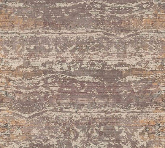 Non-Woven Wallpaper Stripes Vintage brown 36774-4