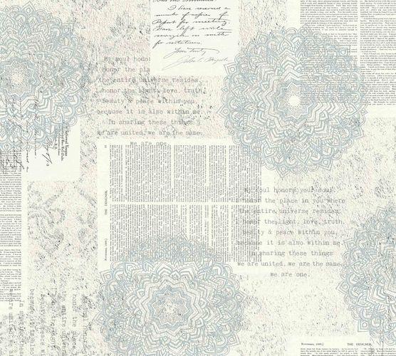 Non-Woven Wallpaper Mandala Vintage white 36775-2 online kaufen