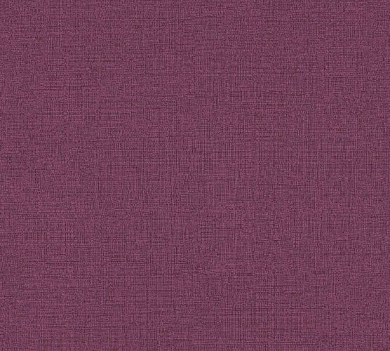 Non-Woven Wallpaper Plain Linen purple 36776-8
