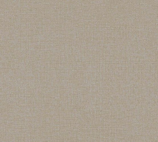 Vliestapete Uni Leinen taupe AS Creation 36776-9 online kaufen