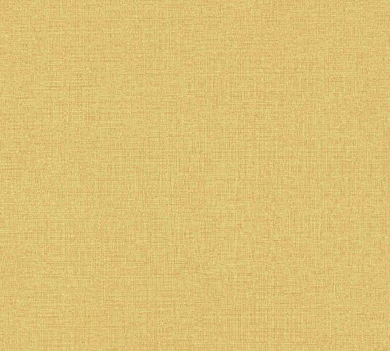 Non-Woven Wallpaper Plain Linen yellow 36777-7