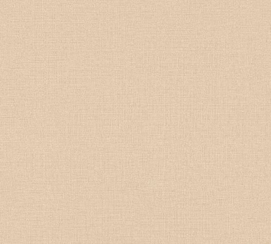 Non-Woven Wallpaper Plain Linen light brown 36777-8