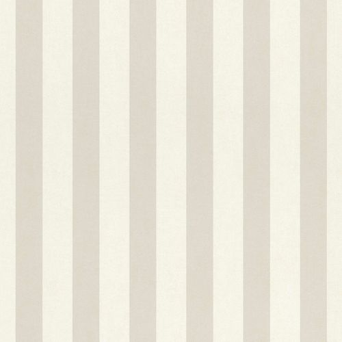 Kids Wallpaper stripes pattern grey white Rasch 246056