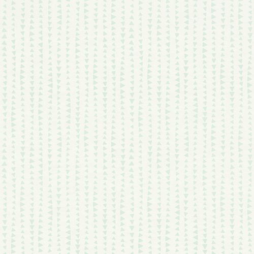 Kids Wallpaper triangle stripes mint green Rasch 249163